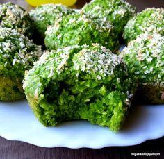 Kuchnia moją przyjaciółką: Zielone muffiny Types Of Cakes, Mini Cheesecakes, Polish Recipes, Avocado Toast, Food Inspiration, Cake Recipes, Muffins, Food And Drink, Low Carb