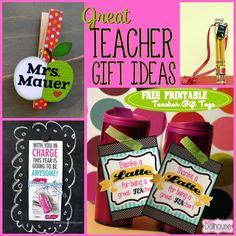 Back to School: Teacher Gift Ideas #teacher gift #backtoschool #freeprintable