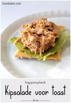 Home Recipes, Dip Recipes, Salad Recipes, Toast, High Tea, Breakfast Recipes, Appetizers, Food And Drink, Dinner