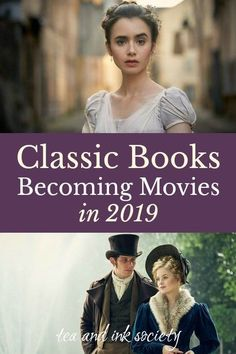 Classic Books Becoming Movies and Miniseries in 2019 Classic Books Becoming Movies and Miniseries in Want to find out what classic book-to-movie adaptations are coming out in Check out this list of. Movies To Watch List, Movie List, Movie Tv, Best Movies List, Classic Literature, Classic Books, Classic Movies, Coming Out, Baltimore