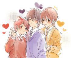 るぅとくん莉犬くんなーくん Anime Neko, Kawaii Anime, Anime Cat Boy, Cute Anime Boy, All Anime, Anime Art, Anime Boys, Vocaloid, Anime Boy Zeichnung