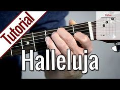 Hallelujah (Rufus Wainwright) Strum Guitar Cover Lesson with Chords/Lyrics Guitar Acoustic Songs, Guitar Chords, Jeff Buckley, Daft Punk, Fingerstyle Guitar, Leonard Cohen, Funny Signs, Playing Guitar, Instruments