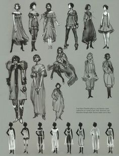 Designing The Dresses For BioShock Infinite's Elizabeth