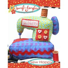 Sew Happy Sewing Machine Softie Toy Sewing Pattern