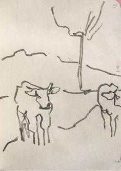 Julia Gulas: Kühe