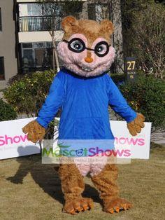 アルビン 歌うシマリス3兄弟のキャラクター サイモンの着ぐるみ 手作りシマリス着ぐるみhttp://www.mascotshows.jp/product/simon-chipmunk-mascot-adult-costume.html