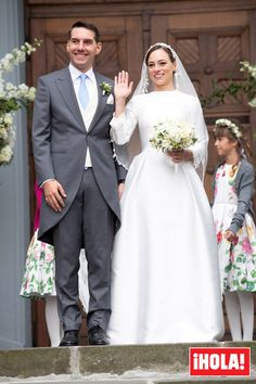 """""""Prince Nicholas and Princess Alina of Romania attend the religious ceremony of their wedding at Sfantul IIie church celebrated by his Eminence Calinic, Archbishop of Arges & Muscelle, on September 2018 in Sinaia, Romania. Romanian Royal Family, Wedding Bible, Wedding Background, Adele, Wedding Boxes, Royal Weddings, Bridesmaid Dresses, Wedding Dresses, Princess Wedding"""
