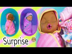 (69) Eyes + Hair Change Big Newborn Twin Sisters Color Changing Surprise - Video - YouTube