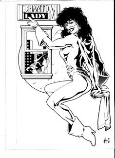 DC's Who's Who Phantom Lady, in EthanRoberts's Phantom Lady Comic Art Gallery Room - 978527