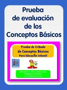 Prueba de evaluacion de conceptos basicos Familia Y Cole, School Psychology, Best Teacher, Physical Education, Speech Therapy, College, Books, Apps, Play Therapy