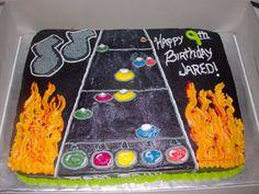 Guitar Hero Cake For Coworkers Nephew Something To Do, Birthday Ideas, Ms, Guitar, Hero, Future, Cake, Desserts, Crafts