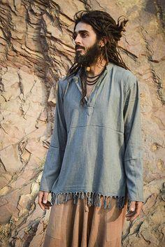 Bohemian Style Men, Hippie Style, My Style, Boho Fashion, Fashion Outfits, Fashion Design, Man Skirt, Estilo Hippie, Hippie Outfits