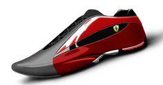 Topuk ve Toe: Ferrari kadar Oregon tasarımcısı rüyalar, Ducati sneakers