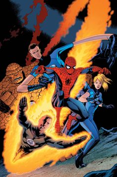 #Spiderman #Fan #Art. (Amazing Spider-Man Vol.1 #590 Cover) By: Dean White. ÅWESOMENESS!!!™ ÅÅÅ+