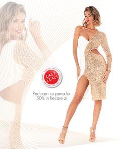 Rochie disponibila pe www.bby.ro Peplum Dress, Glow, Product Description, Collection, Dresses, Fashion, Vestidos, Moda, Fashion Styles