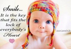 Smile quote via www.Facebook.com/LessonsLearnedInLife