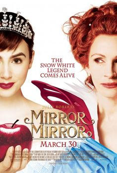 "Quite a few unexpected camp moments in ""Mirror, Mirror"" (2012), 3.5 stars."