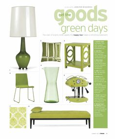 athome Magazine 2010  •  Goods Section  • page layout by Garvin Burke  •  photos contributed