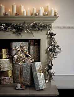 7 Christmas Mantel I
