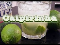 The Caipirinha is the national drink of Brazil, and damn, it is good.