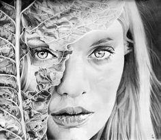 Feuille de chou by Portrait Lc https://www.facebook.com/PortraitLc #art #drawing #Graphit #portrait #black #white