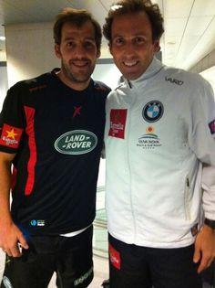 2 Grandes del Padel juntos! #Masterppt2012