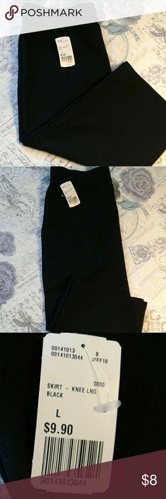 Skirt Long black pencil skirt Forever 21 Skirts Pencil