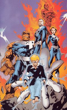Fantastic Four Carlos Pacheco