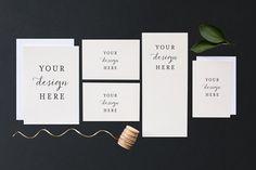 Stock Photo Wedding invitation set by Adore Stock on creativemarket,  Styled Stock Photos,