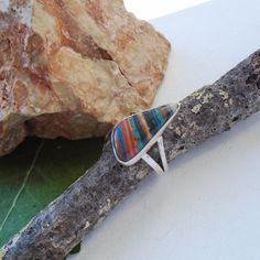 Regenbogen-Calsilica-19-0-mm-925-Sterling-Silber