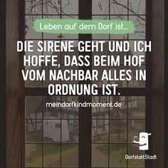 Und dann ist doch nur Probealarm - http://ift.tt/2goahnP - #dorfkindmoment #dorfstattstadt