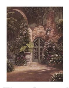betsy brown prints | Betsy Brown - Brulatour Court - art prints and posters