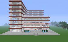 Huge Modern Hospital