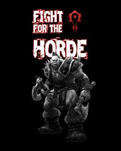 Warcraft Fight Horde