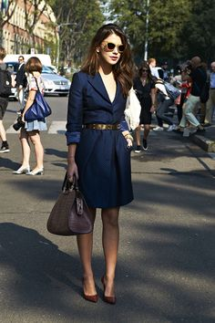 Street Chic in Milan / Elle