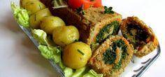 Kolorowa rolada drobiowa - main Baked Potato, Recipies, Curry, Potatoes, Baking, Ethnic Recipes, Food, Author, Recipes