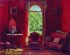 Станислав Жуковский - Красная комната