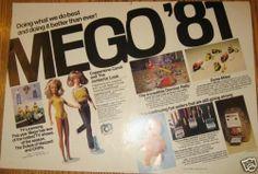 1981 Mego Dolls Toys Trade Ad Coppertone Candi Jordache | eBay