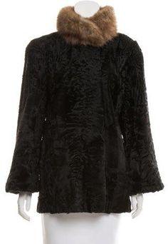 Fur Persian Lamb Sable Coat