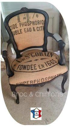 Sublime fauteuil par Patines de France... ...