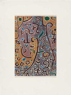 Paul Klee - Fuelle (1938)