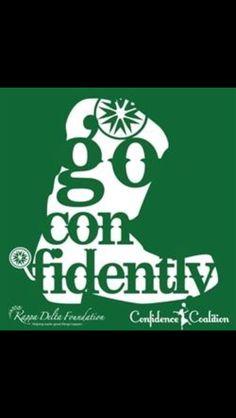 Kappa Delta Go Confidently!!