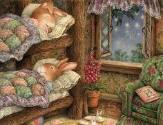 Susan Wheeler, artiste best-seller de carte de vœux, a créé le ...