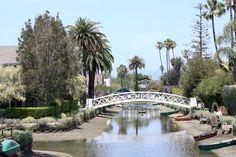 Nice Venice, Venice Beach, Venice Canals CA, California, USA