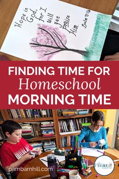 So you want to do a Morning Basket in your homeschool but you just aren't sure that you have the time. In this post, Dawn a homeschool mom veteran explains why she doesn't have the time NOT to do Morning Time in her homeschool. The benefits of a Morning Time far outweigh the time it takes to accomplish and actually makes the rest of your homeschool schedule flow more smoothly. Click over and read to see the benefits!