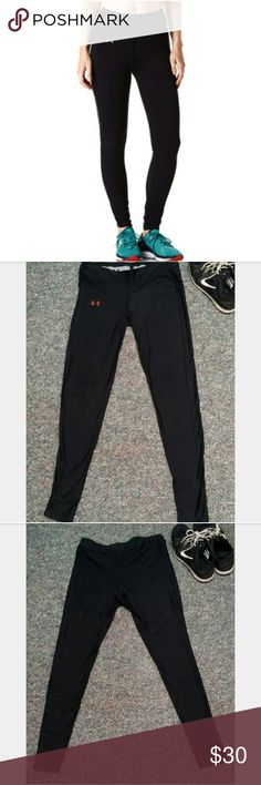 🏆NWOT Under Armour Compression Leggings🏆 These leggings are to die for!! They are thick (unlike how some leggings are) and are super comfortable! You can have a full range of motion with these on without having to readjust them, which is always a plus. These can be worn with a pair of sneakers and active top, or even a hoodie. This is a must have for your gym-wear or even an on the go outfit! Under Armour Pants Leggings