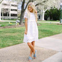 Westover Eyelet Dress