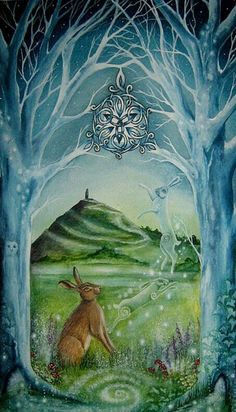 Celtic hares