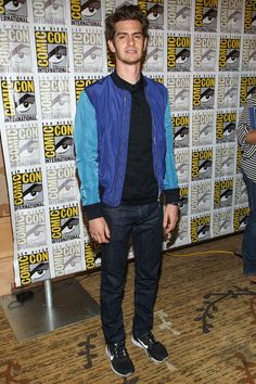 Andrew Garfield at Comic Con