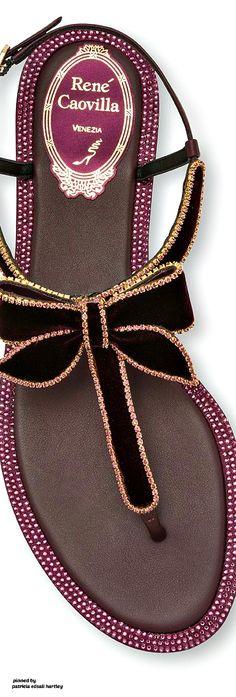 Rene Caovilla - FW 2017 Jeweled Shoes, Rene Caovilla, Dream Shoes, Fantasy, Jewels, Luxury, Handmade, Women, Fashion